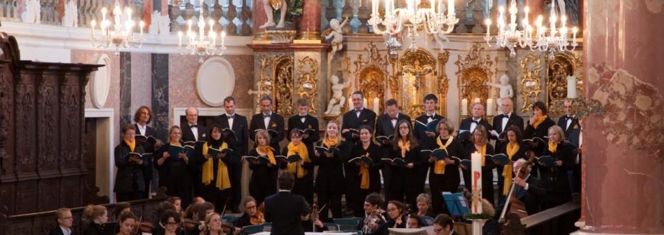 """Soli, Chor und Orchester bei Händels """"Alexanderfest"""" (2012)"""