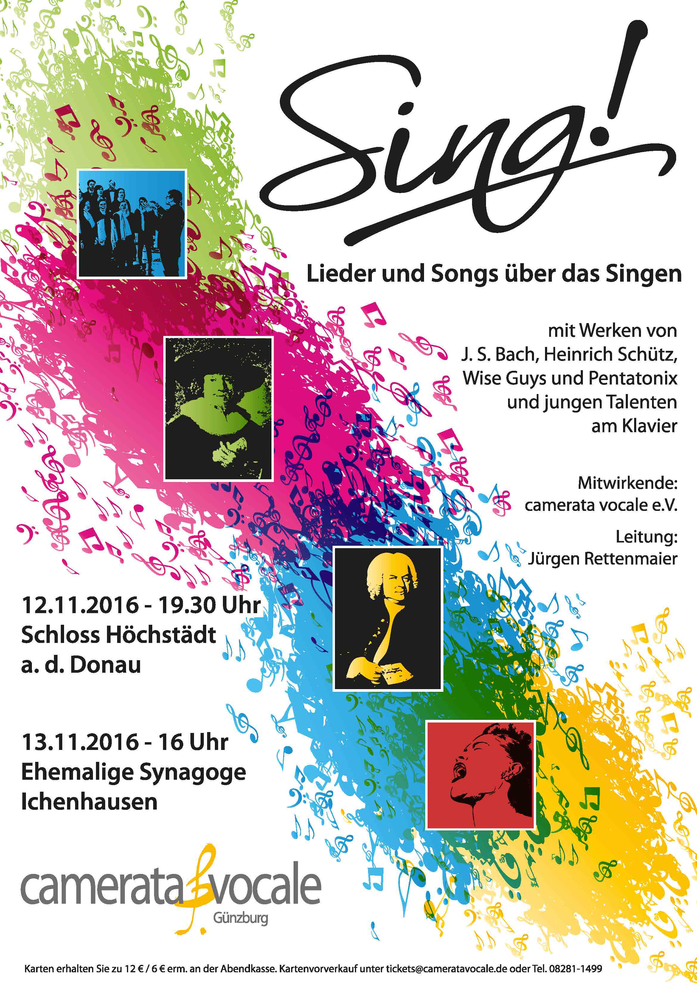 Sing! - Lieder um und über das Singen