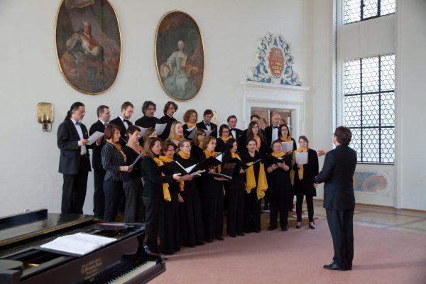 camerata vocale im Kaisersaal des Klosters in Wettenhausen