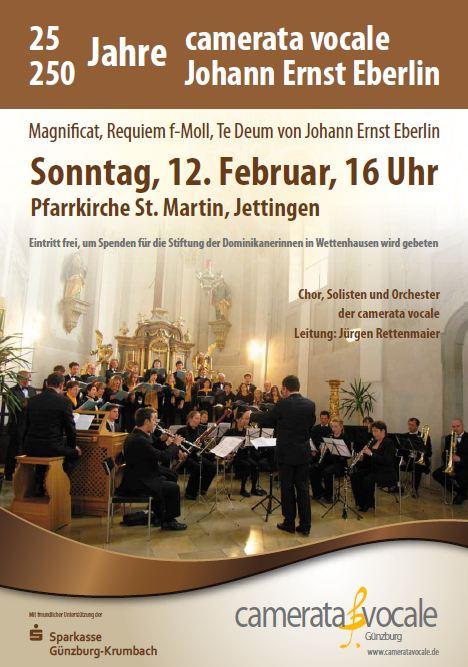 Eberlin-Konzert Plakat