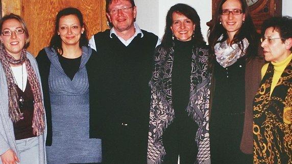 Neue Vorstandschaft der camerata vocale 2012/13